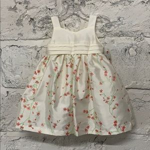 NWT Baby Girl's Embroidered Dress
